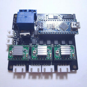 Usb Grbl 3 Axis Stepper Motor Driver Board Controller Laser Cnc Engraving