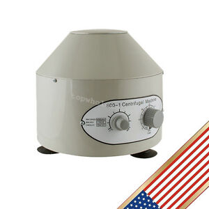 Electric Centrifuge Machine 4000rpm Lab Medical Practice Lab Use Ship Fast Ce