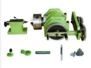 F11 100a Universal Dividing Head 3 jaw Chuck And Mt3 Taper