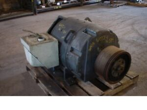 300 Hp Dc General Electric Motor 1750 Rpm 585a Frame Dpfv 500 V