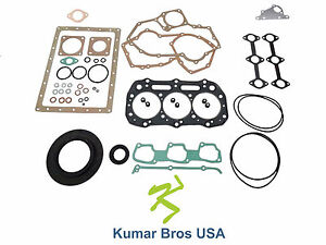 New Full Gasket Set For Ford New Holland 1520 1530 1620 1630 1715 1720 1725