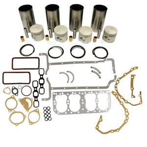 Engine Base Kit 090 Liners For Ford New Holland 2n 8n 9n