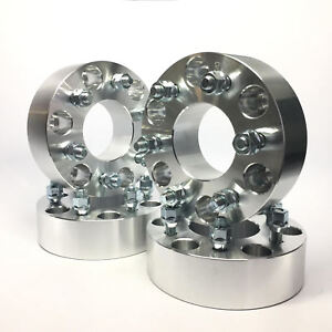 4x 1 5 Wheel Adapters Spacers 6x5 5 To 6x5 6x139 7 To 6x127 12x1 5 Fits Chevy