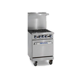 Imperial Ir 4 Four Burner 24 Gas Restaurant Range