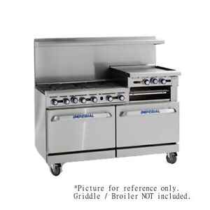 Imperial Ir 10 Ten Burner 60 Gas Restaurant Range