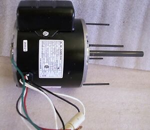 Ao Smith Unit Heater Motor 1 3 Hp 115v 1100 Rpm 2 Spd Revesible 4ly92 ff