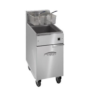 Imperial Ifs 40 e Full Pot Fryer With Electrical Elements 40 Lb Capacity