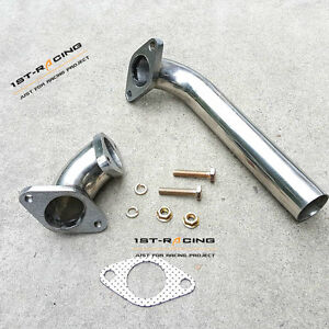 Dump Tube Pipe Elbow Adaptor For Tial Hks 35 38mm Wastegate Actuator Turbo 2pcs