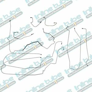 00 05 Chevrolet Monte Carlo Preformed Brake Lines Kit Abs Complete Set Tubes Oe