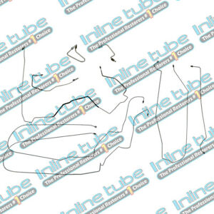 00 05 Chevrolet Monte Carlo Preformed Brake Lines Kit Abs Complete Set Tubes Ss