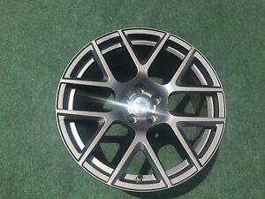 1 Genuine Dodge Charger Challenger 2527 Lightweight Black 5rn84malac Forged