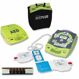 Zoll Aed Plus With Pads New Case And Batteries