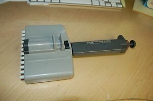 Oxford Multichannel Benchmate Pipette Pipet Variable Volume Multi 12 40 200 Ul