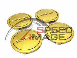 Rota Wheels Z Center Caps Gold Replacement G Force Grid V Titan Dpt