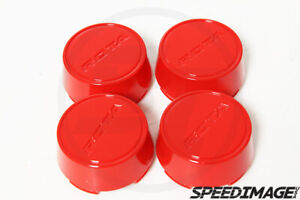 Rota Wheels Moda Center Caps Red Replacement Gt3 Grid V Titan Dpt