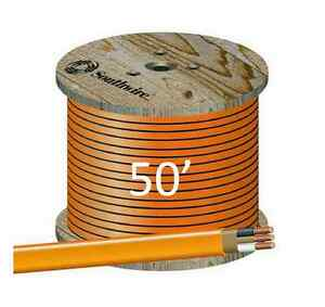 10 2 Nm b 50 romex Non metallic Jacket Copper Electrical Cable 3 Wire