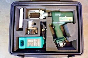 Greenlee Gator Eccx Pro Battery Hydraulic Crimper 6 Ton Crimping Makita Burndy