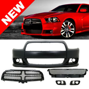 11 14 Dodge Charger Srt8 Style Hellcat Conversion Front Bumper Cover Pp