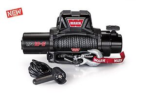 Warn 96815 Vr10s 10000lb Winch 12v Hawse Fairlead 90 3 8 Synthetic Rope Hummer