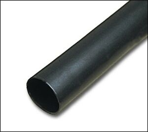 New Sumitomo Sumitube B2 Black Flex Polyolefin Heat Shrink Tubing 1 4 50
