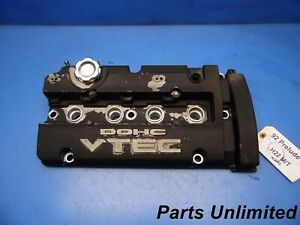 92 96 Honda Prelude Oem Engine Motor Valve Cover Stock Factory H22a1 Vtec
