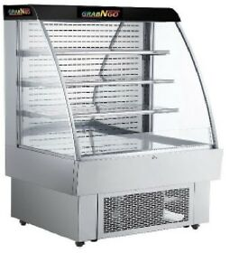 Grab n go Product Display Refrigerator With Front Lid Etl Certified Led Light