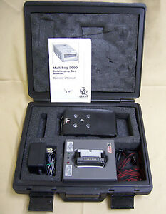 Quest Technologies Multilog 2000 Datalogging Gas Monitor W Monitor Case Charger