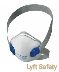 Jackson Safety 64260 R10 Dual Valve Niosh N95 Particulate Respirator pick Size
