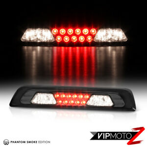 For 07 13 Toyota Tundra Smoke Len red Led Smd Rear 3rd Brake Tail Lights Lamps