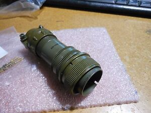 Bendix Connector W contacts backshell clamp 10 214622 10p Nsn 5935 00 913 1767