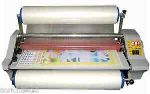 Brand New Fm 480 Laminator Four Rollers Hot Roll Laminating Machine Only 220v