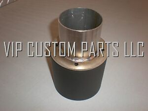 Vcp 304 Stainless Steel 4 Inch Od Exhaust Tip Slip Over 2 25 Pipe
