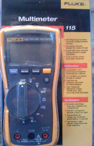 Fluke 115 True Rms Digital Multimeter Brand New
