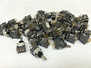 45 Pc Lot New Brand Nkk Switches B 13jh Switch Toggle Spdt Co 28v