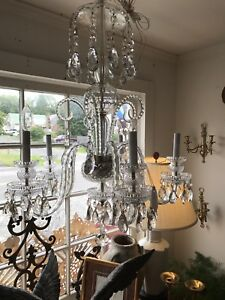 Gorgeous European Large Crystal Chandelier Price Reduced Jis
