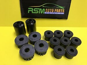 Front Rear Leaf Spring Bushings Set Suzuki Samurai 86 95 Made In Japan