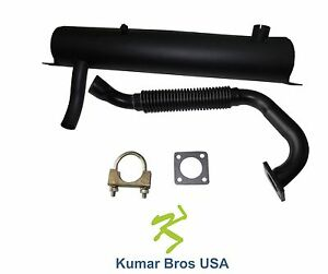New Kumar Bros Usa Muffler Ex Pipe Clamp For Bobcat S130 S150 S160 S175 S185