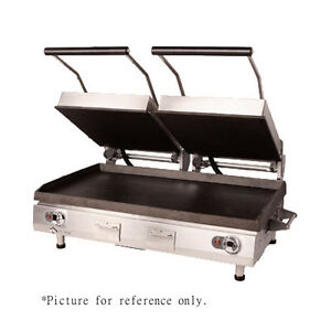 Star Pgc28it Grooved Panini Sandwich Grill W Analog Controls And Digital Timer