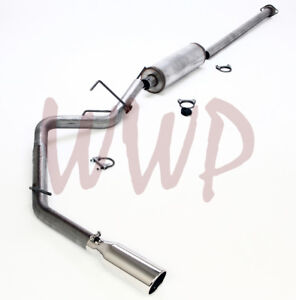 Stainless Steel Cat Back Exhaust Muffler System Kit For 05 15 Toyota Tacoma 4 0l