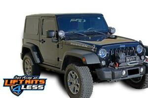 Dv8 Ht07sb22 Hard Top Square Back For 2007 2018 Jeep Wrangler Jk 2 Door 2wd 4wd