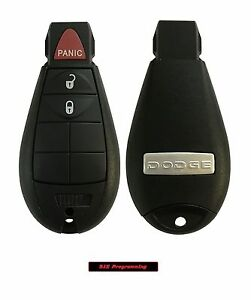 New Uncut Replacement Key Fob Keyless Entry Remote Transmitter For Fobik 3