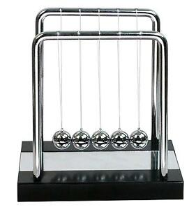 Bojin Newton s Cradle Balance Ball Science Puzzle Desk Toy Mirror Medium