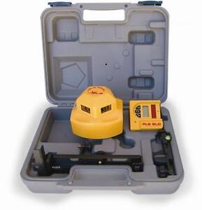 Pls Laser Pls 60536 Pls360 Level System With Detector Yellow