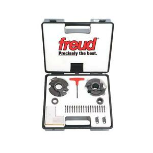 Freud Insert Knife Rail And Stile Shaper Cutter Set With 1 1 4 Bore rs2000