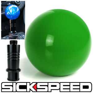 Green Gumball Shift Knob Auto Automatic Adapter For Gear Shifter Kia