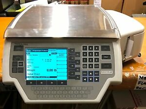 Hobart Quantum 029032 bj Commercial Scale Printer For Grocery Deli Meat Produce