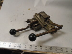 Machinist Tool Lathe Mill Jewelers Lathe Derbyshire Lever Cross Slide Compound