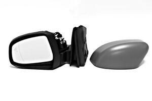 Primed Wing Side Mirror Convex Lh Fits Ford Focus Hatchback Saloon 1750343