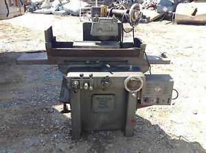 Doall D 6 Surface Grinder W 18 3 4 X 6 1 4 Magnetic Chuck 1hp Spindle 220v