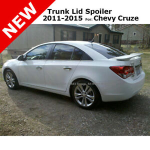 Chevy Cruze 4dr 2011 Trunk Spoiler Rear Painted Summit White Wa8624